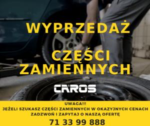 Caros_warsztat Wrocław_wyprzedaż