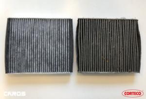 porównanie filtrów nowy stary